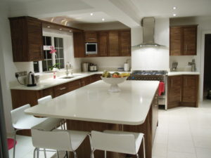 Bespoke walnut kitchen