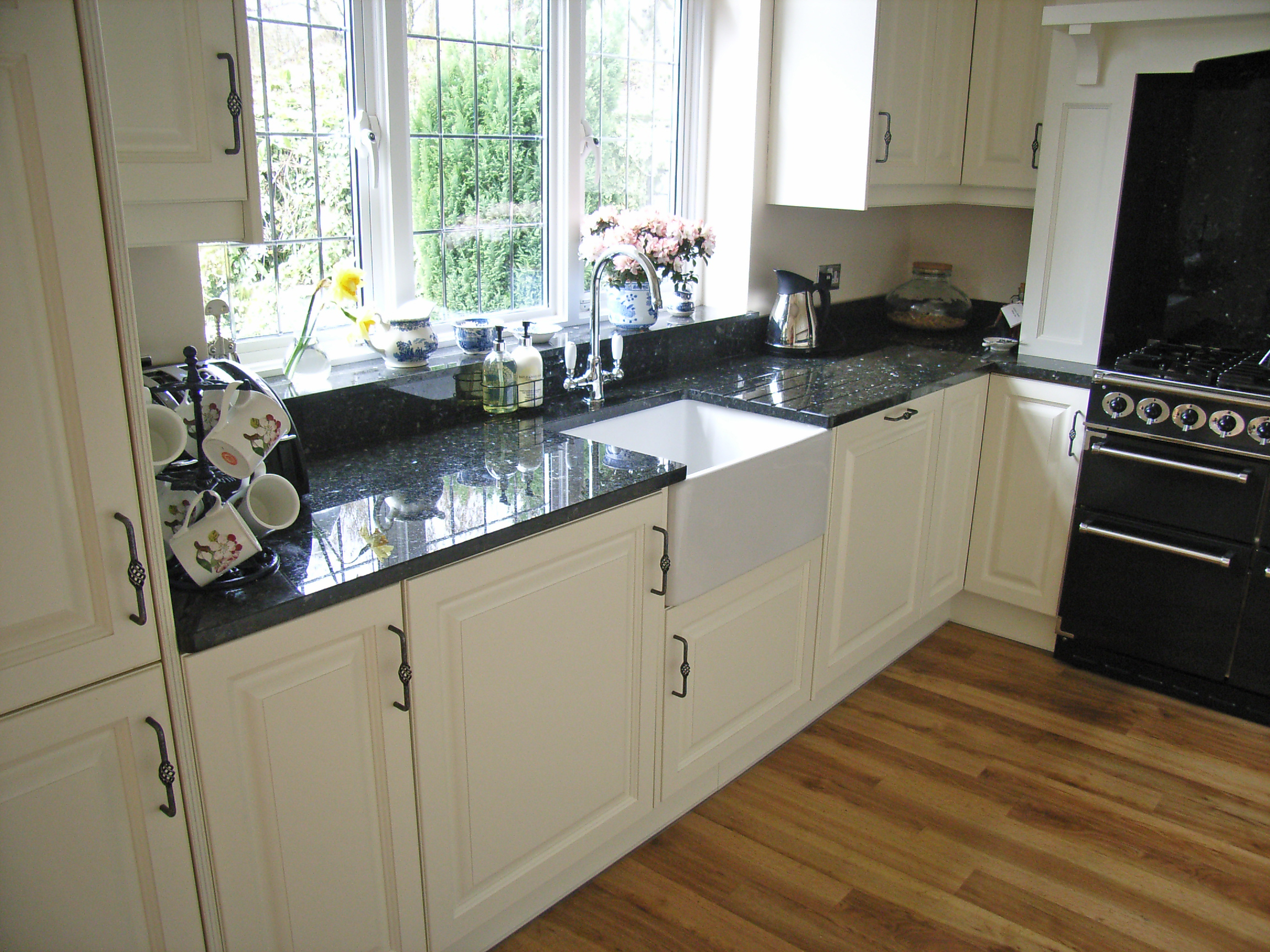 painted birkdale kitchen sidcup